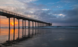 Scripps Pier, La Jolla Ca Stock Photography