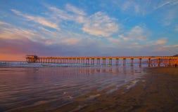 Scripps Pier, La Jolla Ca Royalty Free Stock Photo