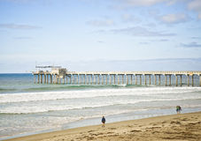 Scripps Pier, La Jolla California Royalty Free Stock Photography