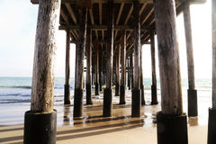 Scripps Pier royalty free stock image