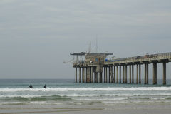Scripps Pier Royalty Free Stock Photography