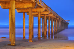 Scripps pir - Kalifornien Royaltyfri Bild