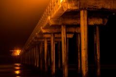 Scripps pir - Kalifornien Royaltyfri Fotografi
