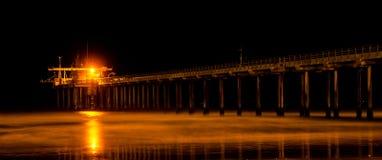 Scripps pir - Kalifornien Fotografering för Bildbyråer