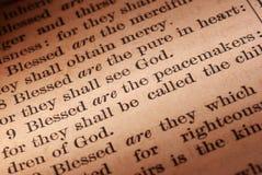 scripture ειρηνοποιών στοκ φωτογραφίες