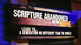 Scripture που εγκαταλείπεται στοκ φωτογραφίες