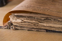 Scripture antico immagini stock libere da diritti