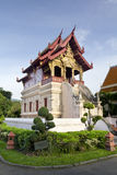 The scripture library of Wat Phra Sing, Chiang Mai Royalty Free Stock Photos
