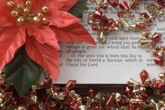 Saviour Born Today Stock Photography