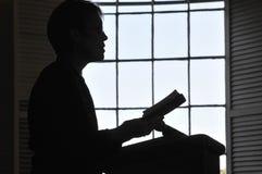 Scripture van de lezing royalty-vrije stock afbeeldingen