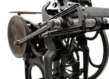 Scritto tipografico antico Fotografia Stock