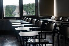 Scrittori della scuola in un'aula immagine stock libera da diritti