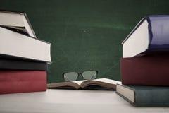 Scrittorio dell'insegnante Immagini Stock