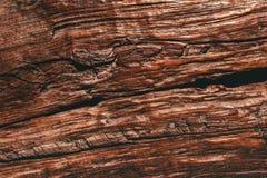Scrittorio di legno dettagliato di marrone di struttura di altezza vecchio Fotografie Stock Libere da Diritti