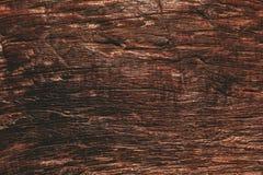 Scrittorio di legno dettagliato di marrone di struttura di altezza vecchio immagini stock libere da diritti