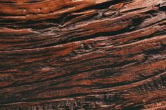 Scrittorio di legno dettagliato di marrone di struttura di altezza vecchio immagini stock