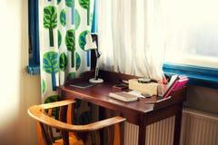 Scrittorio domestico Fotografia Stock