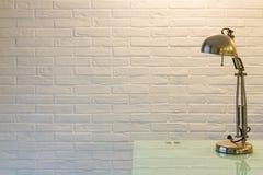 Scrittorio Lamp Fotografia Stock
