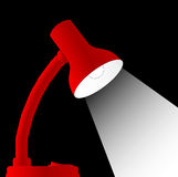 Scrittorio Lamp Fotografie Stock