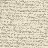 Scrittura a mano astratta. Reticolo senza giunte Fotografia Stock