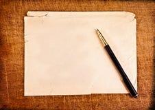 Scritture dell'annata. fotografie stock libere da diritti