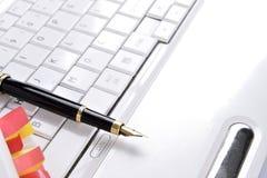 Scriva il equipament Immagini Stock