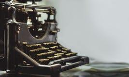 Scriva la macchina a macchina Fotografia Stock Libera da Diritti