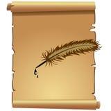 scroll Imagens de Stock Royalty Free