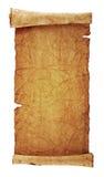 Scroll av gammal parchment Arkivbilder
