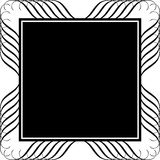 Scroll background. Scroll frame style background illustration Royalty Free Stock Photo