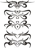 Scroll, cartouche, decor, vector Stock Photography