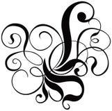 Scroll, cartouche, decor, vector. Scroll, cartouche, decor, illustration stock illustration