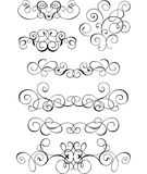 Scroll, cartouche, decor, vector