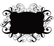 Scroll, cartouche, decor, vector. Scroll, cartouche, decor, illustration Stock Images