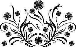 Scroll, cartouche, decor, vector illustration stock image