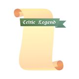 Scroll Celtic Legend Stock Images