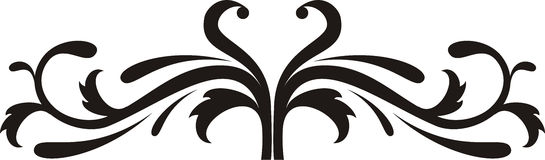 Scroll design Royalty Free Stock Photos