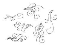 Scroll Design Elements Stock Image