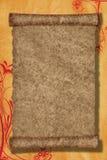 scroll för bakgrundspapper Royaltyfri Bild