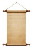 scroll för blankt papper Royaltyfri Bild