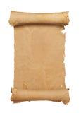 scroll för blankt papper Royaltyfri Fotografi