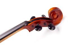 scroll för violoncell s royaltyfri fotografi