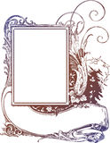 Scroll Frame & Banner Sign Royalty Free Illustration