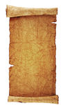 Scroll Of Old Parchment Stock Images
