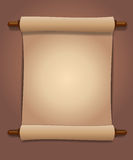 Scroll of old paper Royalty Free Stock Photography
