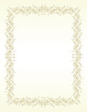Scroll ornament frame. Stock Photos