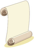Scroll Paper Illustration Royalty Free Stock Images