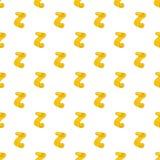 Scroll paper pattern, cartoon style Stock Photo