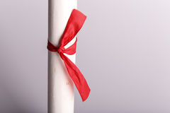 Scroll of paper Royalty Free Stock Photo