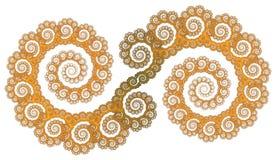 Scroll pattern vector illustration